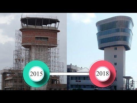 Kannur Airport ATC Tower Construction   Timeline