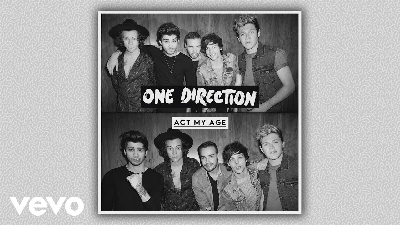 One Direction - Act My Age (Audio)