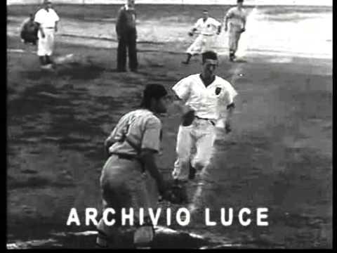 1956 - III° Campionato Europeo baseball. Roma, 10-15 luglio