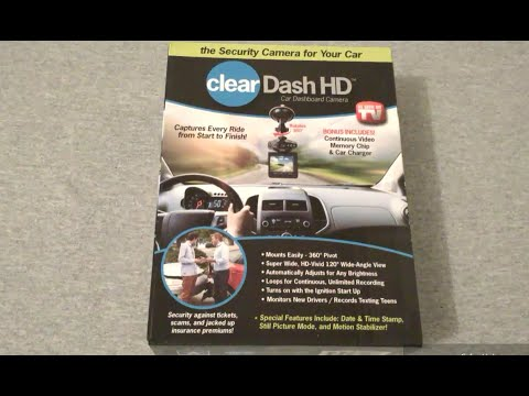Clear HD Dashcam Unboxing