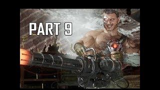 MORTAL KOMBAT 11 Walkthrough Part 9 - Sonya Blade (MK11 Story Let's Play Commentary)