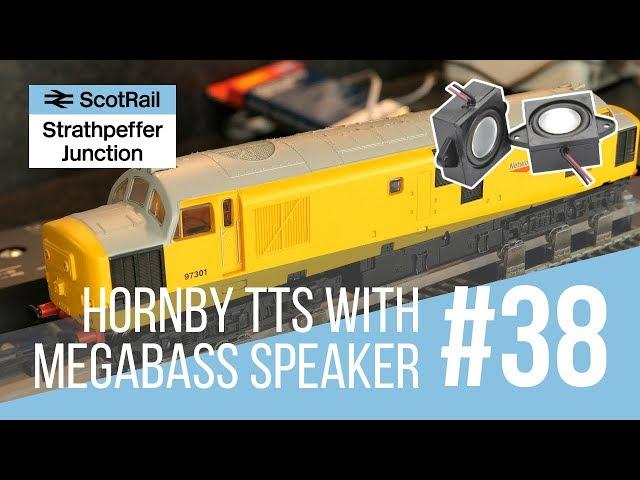 #38 Hornby Class 37 TTS Sound - Mega Bass Speaker Upgrade