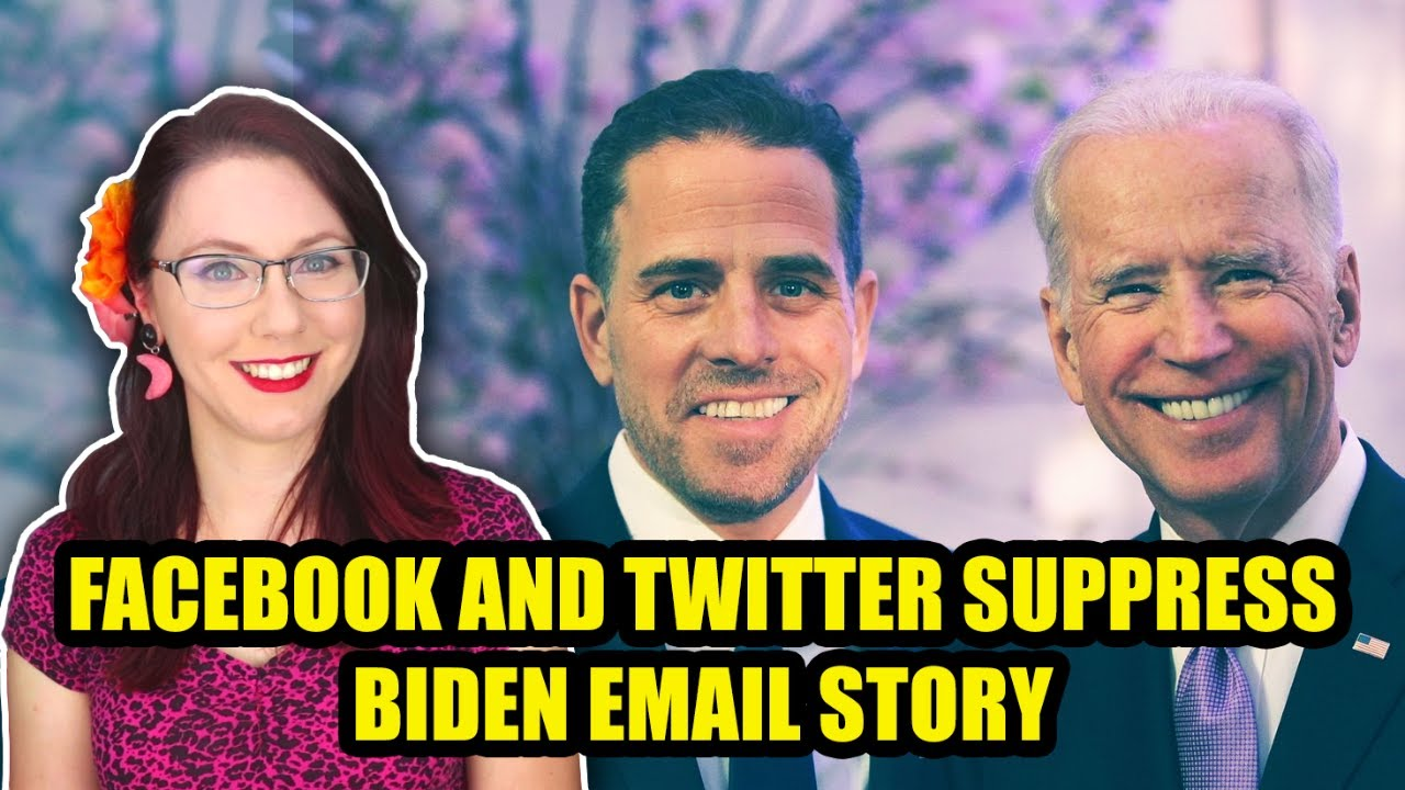 That Biden Story Facebook and Twitter Don't Want You to Know About
