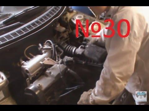 Как поменять подушки двигателя ваз 2110 8 клапанов