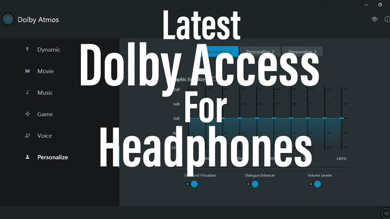 Latest Dolby Access for Headphones ( June 2019 ) || Windows 10 || How to  install