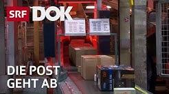 Im Verteilzentrum der Post – Paketboom dank Konsumlust |  Konsum & Kaufrausch | Reportage | SRF DOK