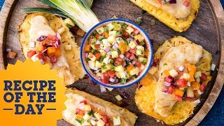 How To Win Summer: Grilled Fish on Pineapple Planks | Food Network