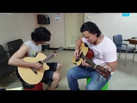 With Our Without You By U2 Acoustic Cover Jay And Venz