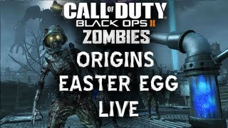 "Black Ops 2 Origins ""Little Lost Girl"" Easter Egg 3 Player Attempt Live Commentary"