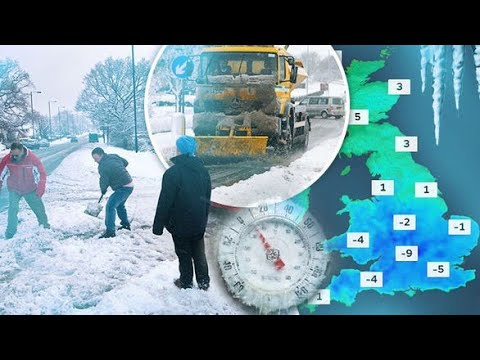 UK set for worst winter in years with temperatures set to reach -11