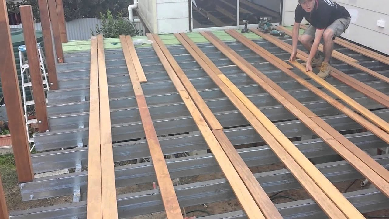 how to build an amazing deck roof by adaptit