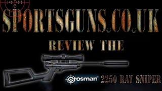 Sportsguns review the crosman 2250 air rifle