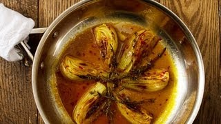 Orange & Chili Pepper-braised Fennel - Cook Taste Eat