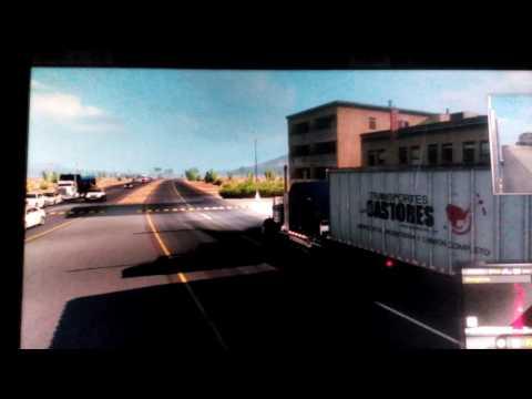 Desde Cabo San Lucas BCS serca de Guerrero negro American truck simulador