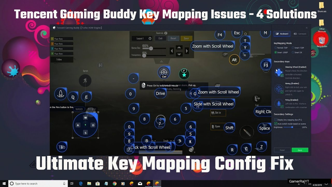Tencent Gaming Buddy Key Mapping Issues - 4 Solutions
