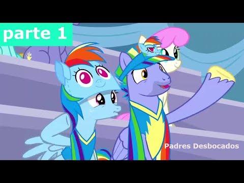 My Little Pony Temporada 7 Capitulo 7 Padres Desbocados - Español Latino  PARTE (1/4)