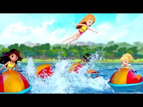 Polly Pocket full episodes   Jet Ski competition   New Episodes - S11   Kids Movie   Girls Movie