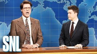 Weekend Update: Jacob Silj on the World Economic Forum - SNL
