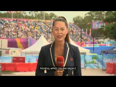 Māori athletes at the Comm Games   Day 9