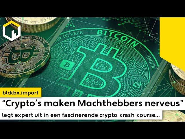"""""""Crypto's maken Machthebbers nerveus"""" legt expert uit in een fascinerende crypto-crash-course..."""