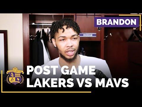 Lakers Brandon Ingram Talks Having Lonzo Ball Back With Isaiah Thomas