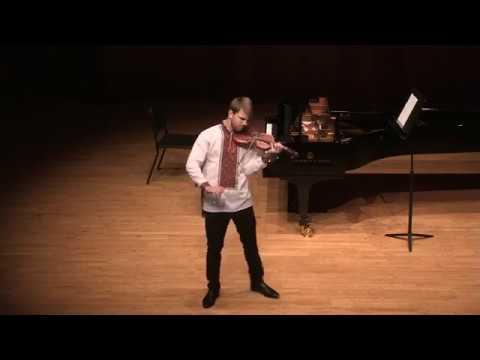Ysaye Sonata 3 Ballade by Kostiantyn Lukyniuk