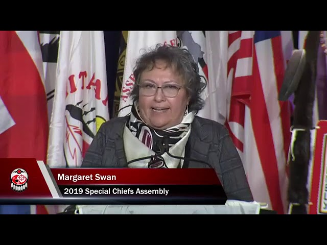 Margaret Swan Speaks at 2019 Special Chiefs Assembly