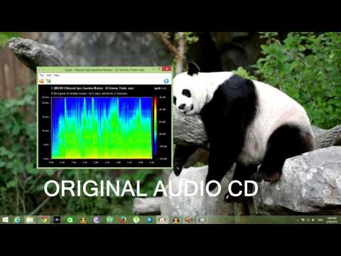 itunes audio Quality Compared to Audio CD