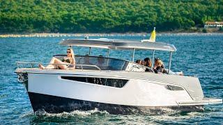 Novi promocijski video za Alfastreet Marine 28 Cabin (boat for lakes) - Alenfra Productions