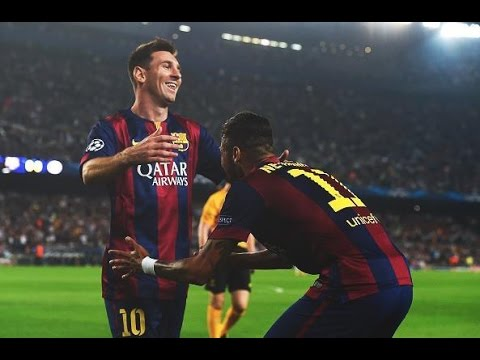 Neymar/Messi partnership ● Worlds Best Duo ● 2014 HD