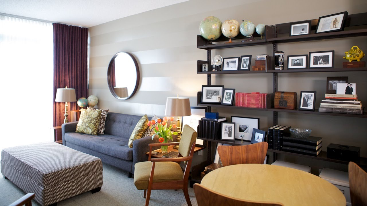 Condo Interior Design Ideas Living Room Modern Wall Mirrors For Smart Decorating A On Budget Youtube