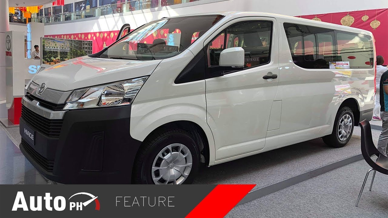 577acdf0d3 2019 Toyota HiAce Commuter Deluxe - Exterior   Interior Feature (Philippines )