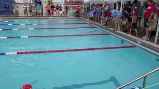 2013-06-15 - Asher Backstroke 25m - Angle 2