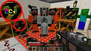 Взрыв Базы ФБР! День 43. Зомби Апокалипсис в Майнкрафт