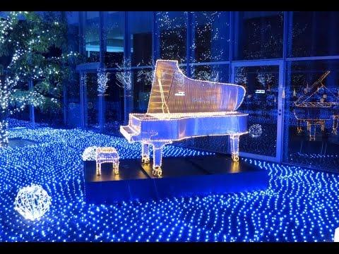 Beautiful Beautiful Christmas Lights U0026 Snow Bubble In Japan