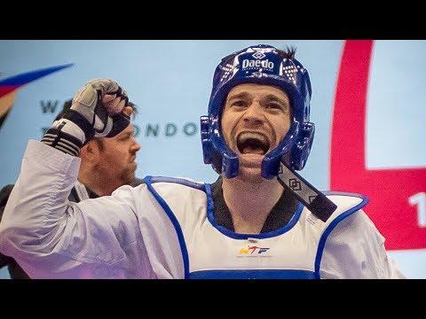 Aaron Cook (MDA) Vs Denys Voronovskyy (UKR). European Taekwondo Championships Kazan-2018