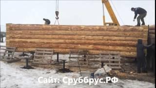 видео Винтовые сваи для сруба бани из бревна, фундамент, цена