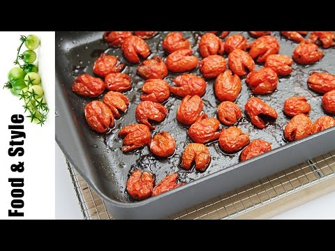 How To Oven Roast Cherry Tomatoes (with Honey!)
