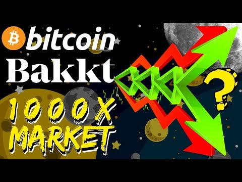 1000x Cryptocurrency Market Growth, Bakkt Bitcoin Futures, Institutional Money! Bitcoin News