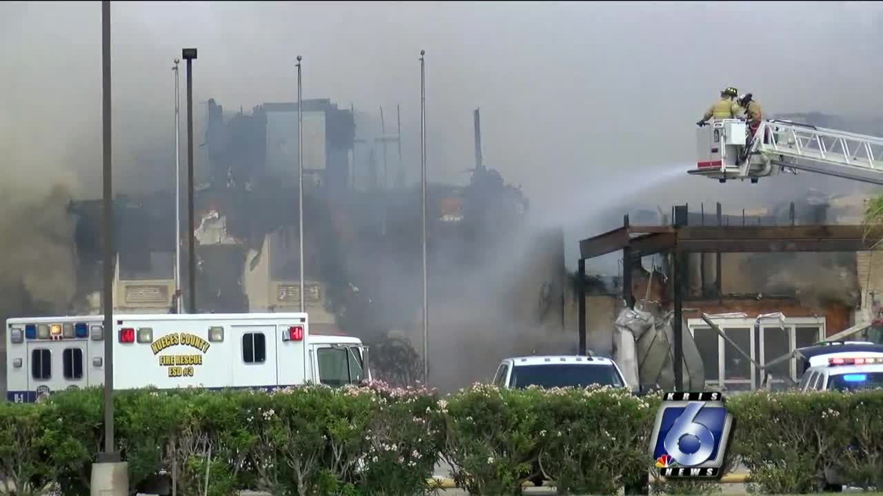 Fire Destroys Three Story Hotel In South Texas