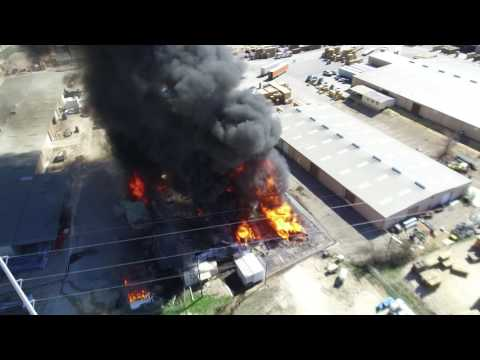 Grandview Industrial Fire Explosions
