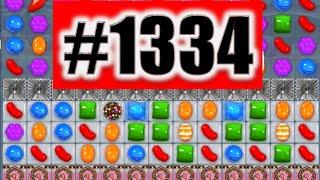 Candy Crush Saga Level 1334 NEW! | Complete!
