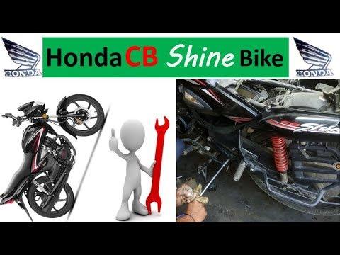 Honda CB Shine Full Bike Service At Home