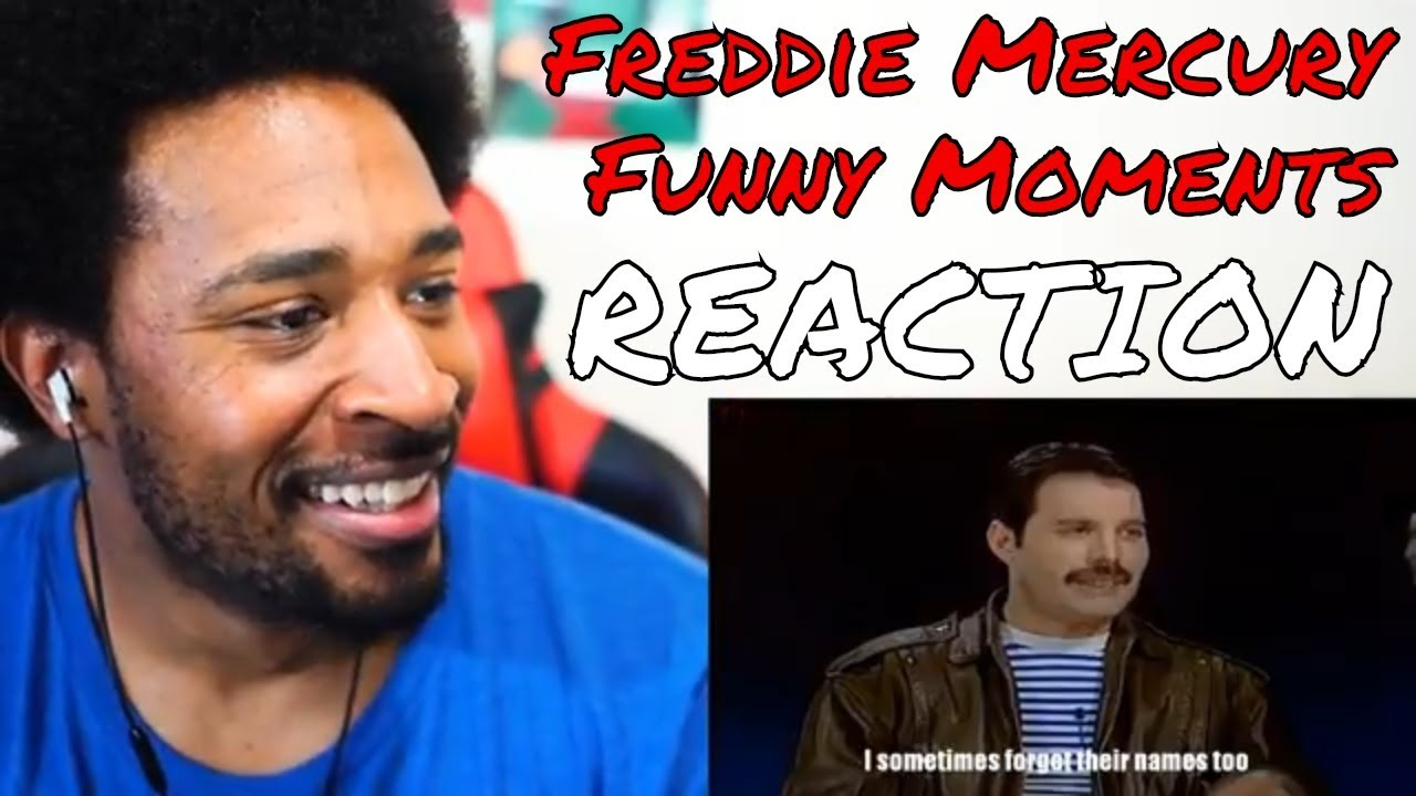 Freddie Mercury Funny Moments Reaction Davinci Reacts
