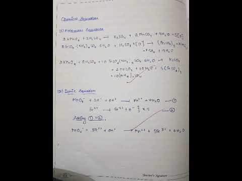 Class 12 chemistry practical (Titration reading) mohr's salt