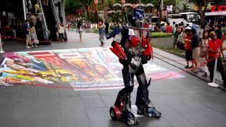 Optimus Prime Gangnam Style