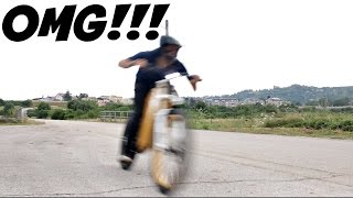 I GO OVER 100KPH ON A BICYCLE!!!