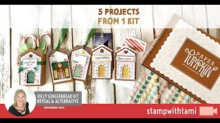 How to make 5 different projects from 1 Kit