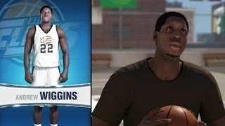 NBA 2K14 MyCareer Andrew Wiggins - The Creation of Andrew Wiggins