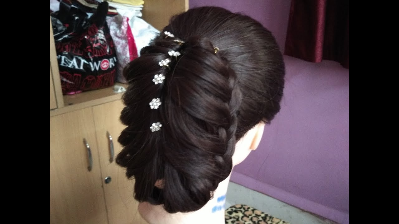 New Year Hairstyle For Girl 2018amazing Hairstyle For Partywedding